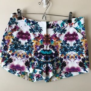 Nicole by Nicole Miller Floral Print Shorts
